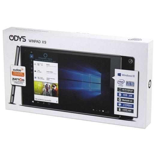 Odys Winpad X9 22,6 cm (8,9 Zoll) Tablet-PC 1,83 GHz Quad Core 32 GB Flash HD