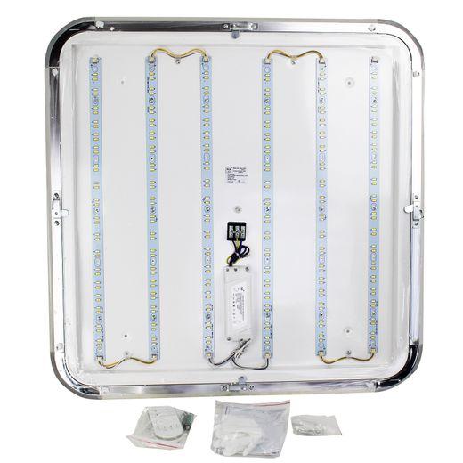LED Deckenwanne Deckenlampe 54W Silber 5400 Lumen 3000K-6500K Double Color A++