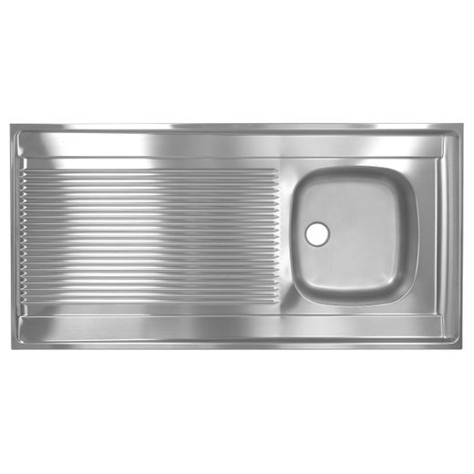 Franke STX 711 Edelstahl Spülbecken Einbauspüle Küchenspüle 120 x 60 cm
