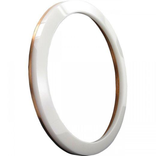 Marc Coblen MCB45RCWHITE Lünette 45mm Keramik Weiß Edelstahlrand günstig kaufen