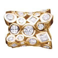 Story Charme Cylinder Zirkonia Silber vergoldet 5208842  günstig kaufen 001