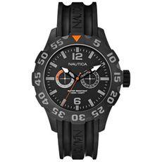 NAUTICA Built for Diving BFD Maritime 100 Multifunktion Black IP A17617G Herrenuhr  günstig kaufen 001