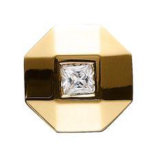 Story Charme Ring Knopf Zirkonia Silber vergoldet 5208127 günstig kaufen 001