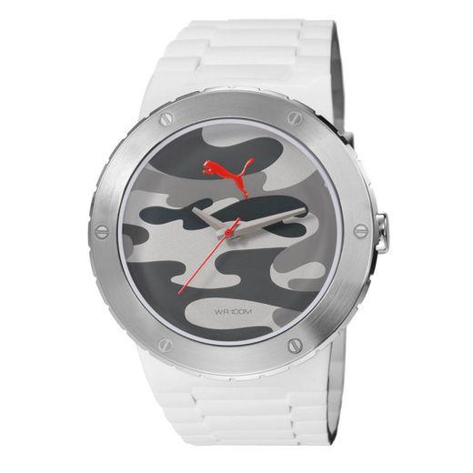 Puma Uhr Blast L camo white PU103331004 - Puma Uhren günstig kaufen