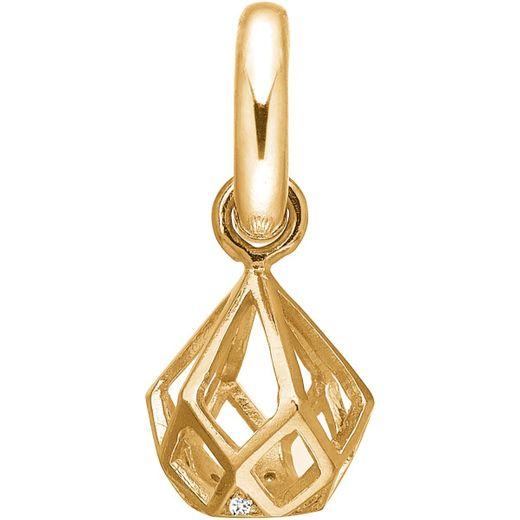 Story Schmuck 5208739 Silber Charm vergoldet Tropf Harlekin Zirkonia günstig kaufen