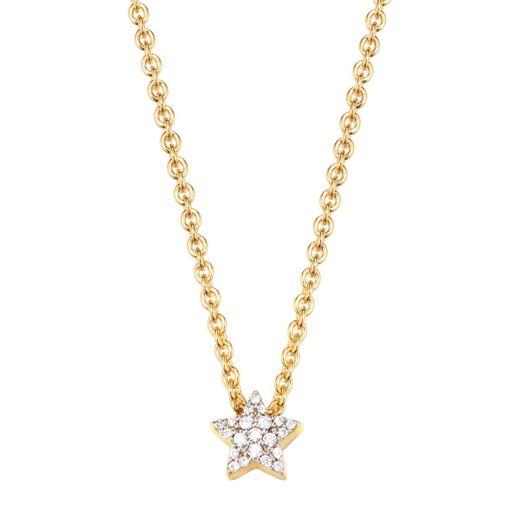 Esprit Schmuck PETITE STAR GOLD ESNL92979B420 Kette Sterlingsilber vergoldet günstig kaufen