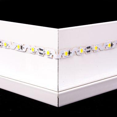 PREMIUM 5m Rolle weiß 7.200lm 12V IP20 ZICKZACK SMD Streifen formbar dimmbar 60LEDs/m selbstklebend  – Bild 4