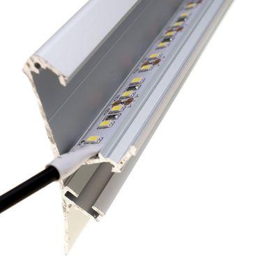 ECO 5m Rolle 14.400lm 24V weiß IP20 sehr helle SMD 2835 LED Streifen 120LEDs/m selbstklebend dimmbar – Bild 4