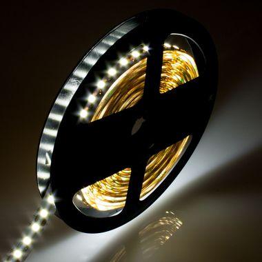 PREMIUM 5m Rolle 14.400lm 24V sehr helle SMD 2835 LED Streifen weiß 120LEDs/m selbstklebend IP20 dimmbar – Bild 7