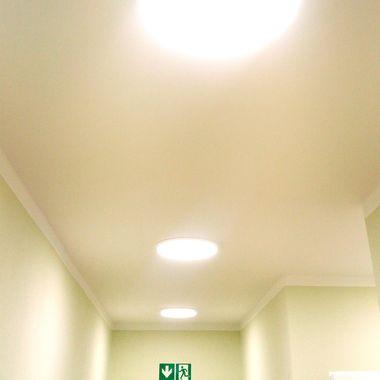 Taloya® Moonlight dimmbar weiß 3000K - 6000K 24 Watt Ø 40cm extra helle runde LED Deckenlampe Wandlampe | 1920 Lumen | 120° Abstrahlwinkel – Bild 10