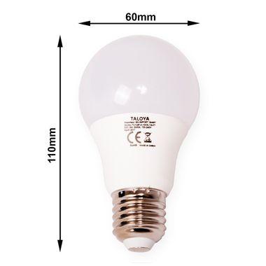 Taloya® 9W LED E27 900lm Ballform milchig wie 60W Leuchtmittel – Bild 6