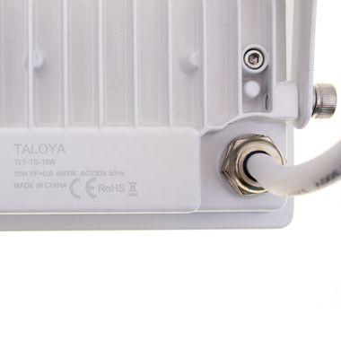 Taloya® Magician weiß 10W | 20W | 30W | 50W LED Fluter Strahler flach IP67 – Bild 7