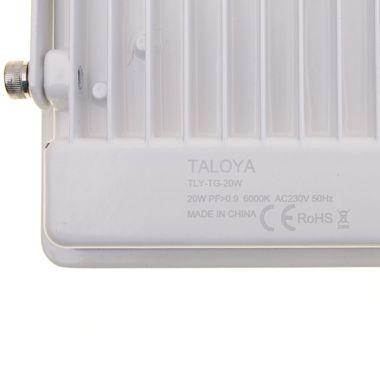 Taloya® Magician weiß 10W | 20W | 30W | 50W LED Fluter Strahler flach IP67 – Bild 17