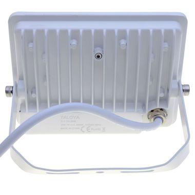 Taloya® Magician weiß 10W | 20W | 30W | 50W LED Fluter Strahler flach IP67 – Bild 12