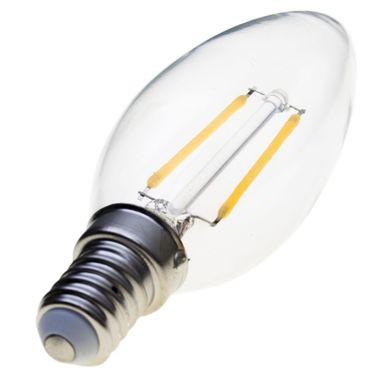 Taloya HX-3514 C35 LED E14 Filament Leuchte EEK A+ Retro Classic Kerze ø 35 x 100 mm Lampe Glühbirne Ersatz  – Bild 6