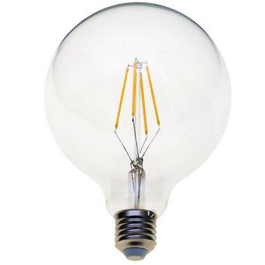 Taloya HX-12518 G125 LED E27 Filament Leuchte EEK A+ Retro Classic Großer Ball Globus ø 125 x 180 mm Birne Lampe Glühbirne Ersatz  – Bild 1