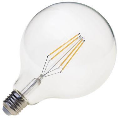 Taloya HX-12518 G125 LED E27 Filament Leuchte EEK A+ Retro Classic Großer Ball Globus ø 125 x 180 mm Birne Lampe Glühbirne Ersatz  – Bild 5