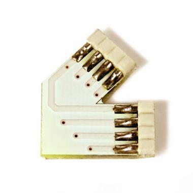 Eckverbinder 45° Grad + für RGB SMD Streifen Leisten – Bild 1