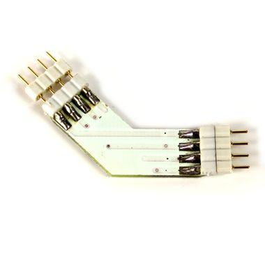 Eckverbinder 135° Grad + für RGB SMD Streifen Leisten – Bild 3