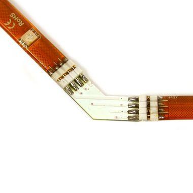 Eckverbinder 135° Grad + für RGB SMD Streifen Leisten – Bild 4