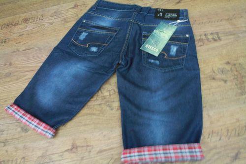 Herren clubwear Jeans Shorts Caprihose Chino Chinohose  kurze Hose... Total HIP! – Bild 17
