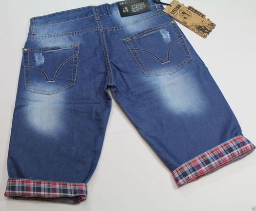 Herren clubwear Jeans Shorts Caprihose Chino Chinohose  kurze Hose... Total HIP! – Bild 7