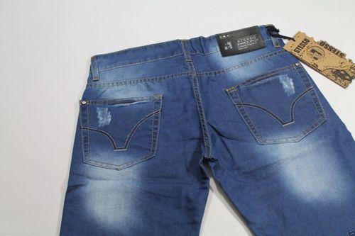 Herren clubwear Jeans Shorts Caprihose Chino Chinohose  kurze Hose... Total HIP! – Bild 5