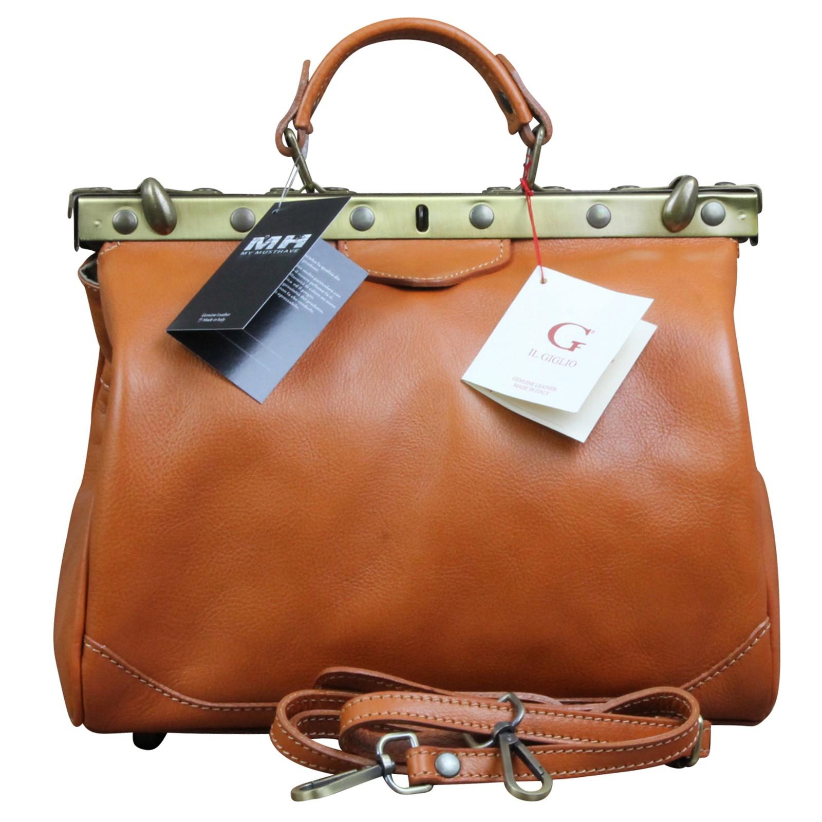 ledertasche cognac farbend arzttasche