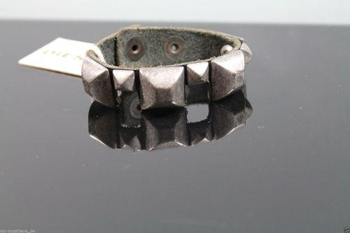 Orig. DIESEL Armband Diesel CA FX Mulu Bracciale Schwarz Neu