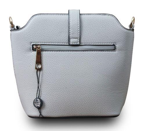 Designer Damen Schultertasche Clutch Hobo Cube Umhängetasche Leder Optik Bag  – Bild 9