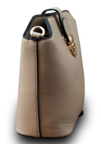 Designer Damen Schultertasche Clutch Hobo Cube Umhängetasche Leder Optik Bag  – Bild 15