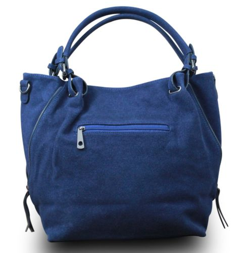 My-Musthave XXL Shopper Tasche Stern Blogger Schultertasche Vintage Used Look – Bild 9