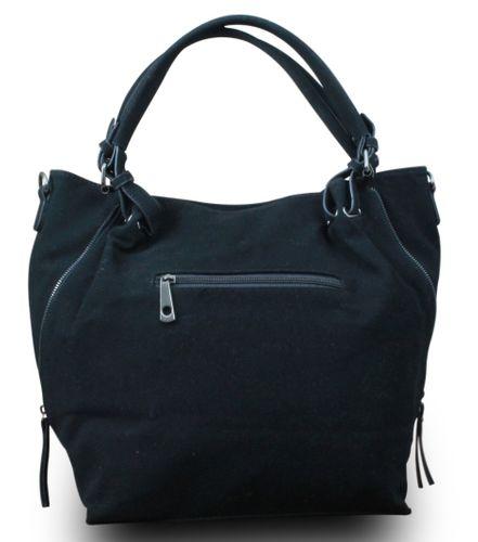 My-Musthave XXL Shopper Tasche Stern Blogger Schultertasche Vintage Used Look – Bild 5