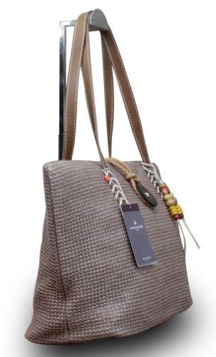 David Jones Damen Tasche Handtasche Geflochten Schultertasche Umhängetasche Flecht – Bild 10