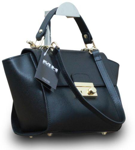 Made in Italy Vera Pelle Echt Leder Henkeltasche Handtasche Clutch  – Bild 10