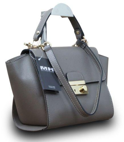 Made in Italy Vera Pelle Echt Leder Henkeltasche Handtasche Clutch  – Bild 13