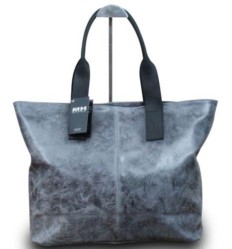Made in Italy Luxus Damen Schultertasche Shopper Donna Bella Leder  – Bild 5
