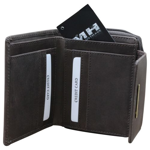 Marco Venezia Leder Damen portemonnee portemonnee portemonnee  – Bild 3
