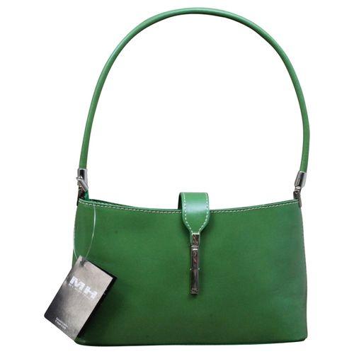 Made in Italy Damen Tasche Handtasche Schultertasche Clutch Echt Leder  – Bild 12