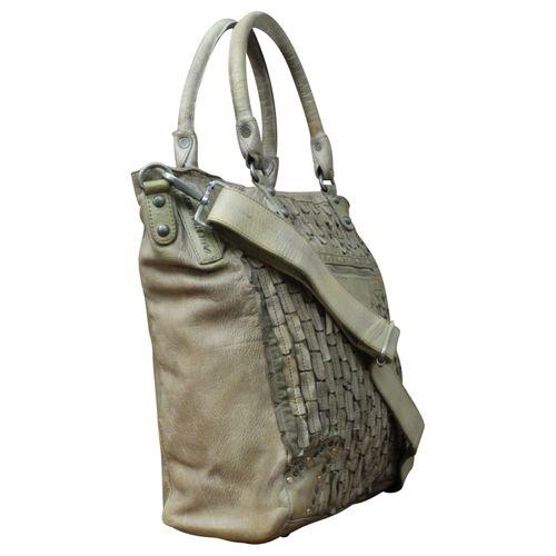 Vintage Shopper Schulter Tasche Leder  NEW – Bild 15