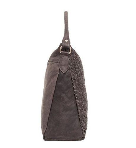 Marco VENEZIA Ledertasche Handtasche Henkeltasche Umhängetasche in Taupe – Bild 2