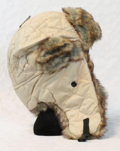 Pilotenmütze Wintermütze Fellmütze Fliegermütze Trapper Pelz Polar Ski Mütze – Bild 8