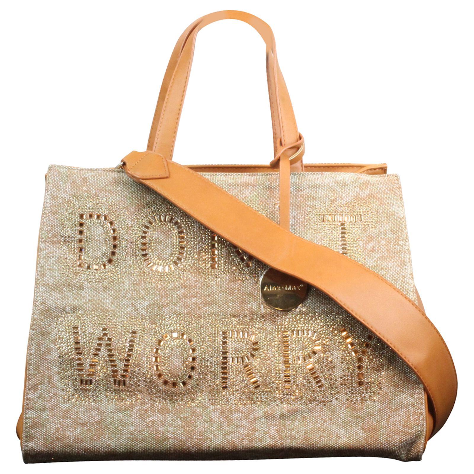 ba4013e32fb0a Designer ALEX MAX Damentasche Shopper Henkeltasche Bag SHOPPER ...