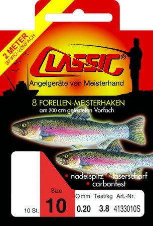 Paladin Classic 200cm Forellenhaken gebunden – Bild 1