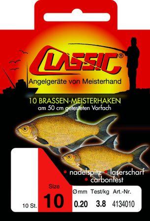 Paladin Classic 50cm Brassenhaken rot gebunden – Bild 1