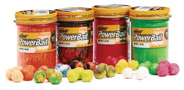Berkley Forellenteig Powerbait Select Glitter Trout Bait Glas