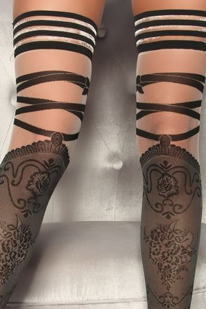BEILEISI Stockings schwarz – Bild 2