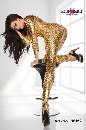 SARESIA Overall der Stars gold