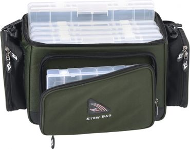 Iron Claw Stow Bag 5 Boxen Kunstködertasche