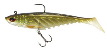 Berkley Giant Flat Ripple Prerigged Swimbait 23cm Gummifisch – Bild 1